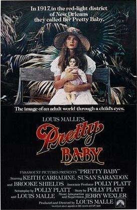 Filme instigante, bonito e corajoso! Brooke Shield estréia, mas Susan Sarandon é beleza pura! Pretty Baby (1978) // Louis Malle