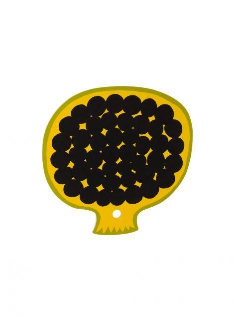 Kompotti leikkuulauta (keltainen, vihreä, musta