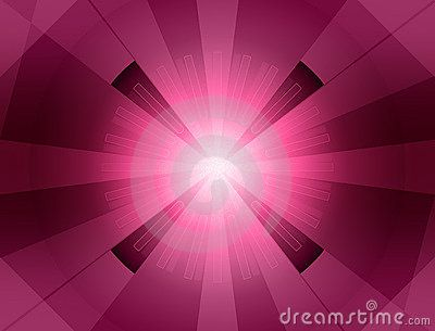 Magenta starburst background.