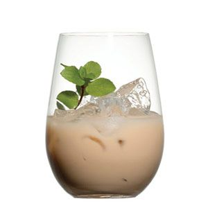 The Dirty Girl Scout - tastes just like a Thin Mint cookie. Made with vodka, Bailey's, White Creme de Menthe & Kahlua