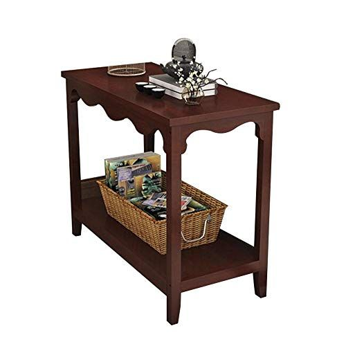 Tables Side Table Multi Functional Rack Solid Wood Frame With