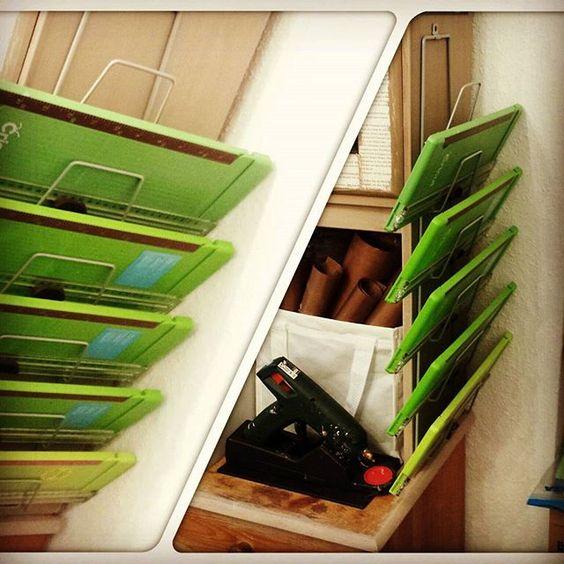 ...endlich Ordnung #ikeahack #scrapbookstorage #craftorganization #diy #aufbewahrung #bastelzimmer #lovewhatido #bastelladen #scrapbookstore #craftstore #cuttingboard