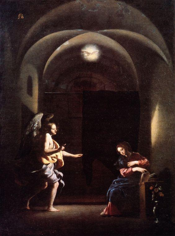 Giovanni Battista Caracciolo, detto il Battistello - Annunciazione