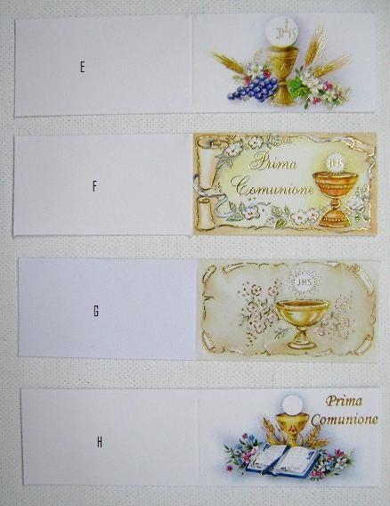 Bigliettini prima comunione per confetti da stampare - Stampabili per bambini gratis ...
