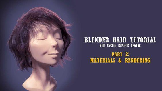 Blender Hair Tutorial part 2