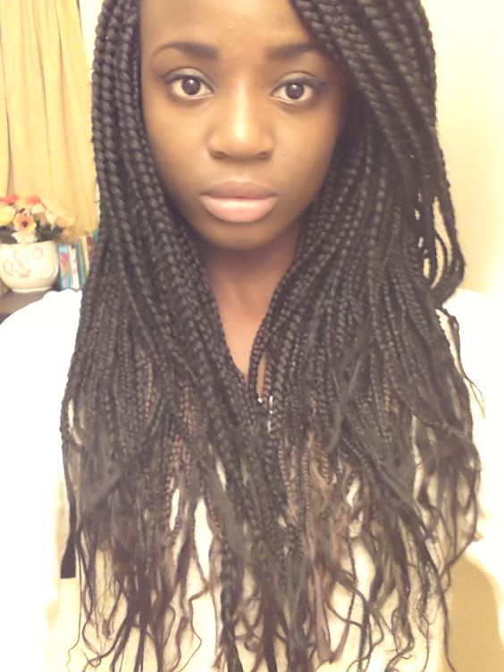 Swell Box Braids Braids And Boxes On Pinterest Hairstyle Inspiration Daily Dogsangcom