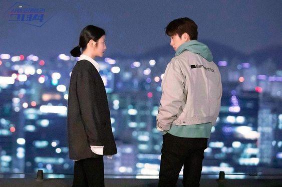 """He Is Psychometric"" Previews Shin Ye Eun And GOT7's Jinyoung Seconds Away From A Kiss"