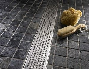 Linear drains are increasing in popularity especially for homeowners who desire a curbless shower, also know as zero entry. It is  a logical & perfect solution for Aging In Place homeowners. No tripping, no cleaning. Large format tile can be carried into the shower! Great option for those who desire minimalist styling.