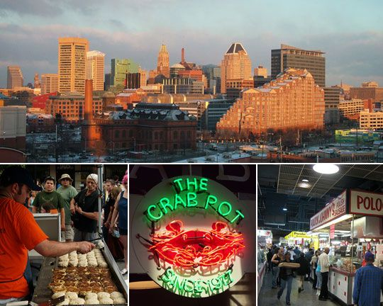 Food-Lover's Guide to Baltimore from The Kitchn - getting a bit dated (2009) but still some good ideas to check out!