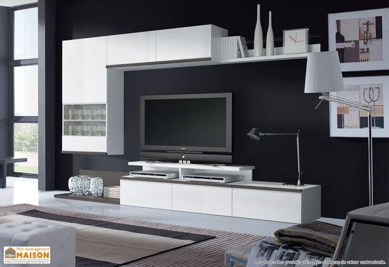 Meuble tv biblioth que recherche google living for Recherche meuble tv