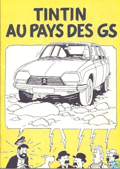 Bandes dessinées - Tintin - Tintin au Pays des GS