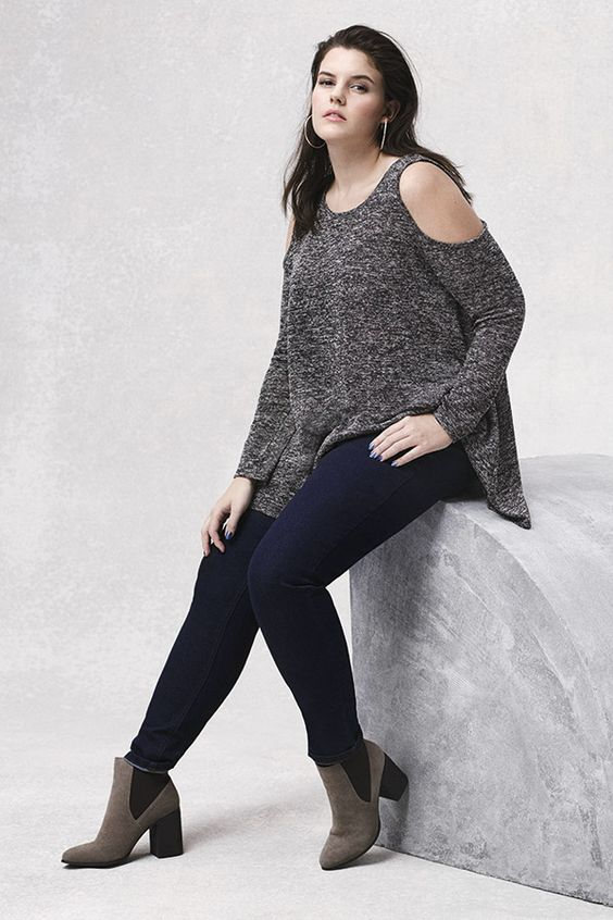 Trust us, it's all about the cold shoulder top now and into summer. #newlook