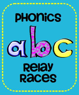 Phonics Relay Races:  Great when you have a class with too much energy.: Phonics Relay, Abc Letter Review, Math Facts, Abc Review, School Phonics, Abc S, Math Relay, Indoor Relay Races For Kids, School Reading