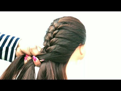 Very Easy Choti Hairstyle For School Going Girl Cute Girl Hairstyle Style Like Me Youtube In 2020 Girl Hairstyles Hair Styles Hairstyles For School