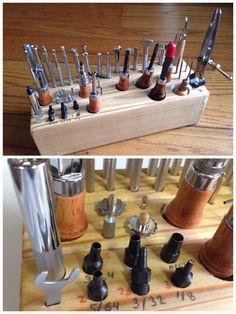 tool block for leather craft - Google Search | Work/shop ...