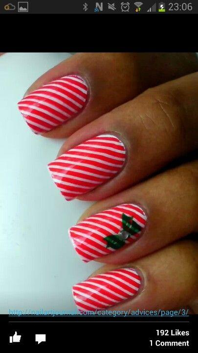 Chrimbo nails