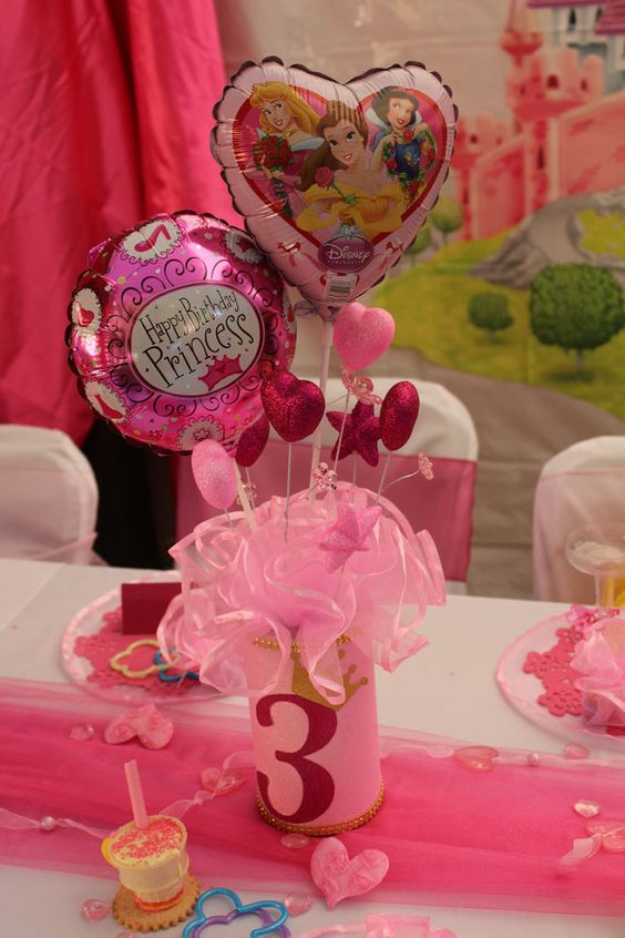 Princess party decorations disney princess party and for Princess dekoration