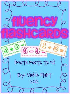 free fluency flashcards for kindergarten common core pinterest. Black Bedroom Furniture Sets. Home Design Ideas