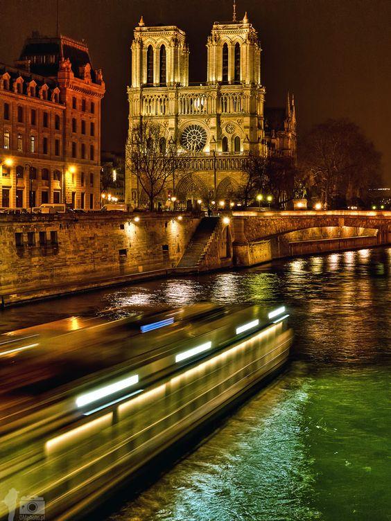 Cathédrale Notre-Dame de Paris by Night