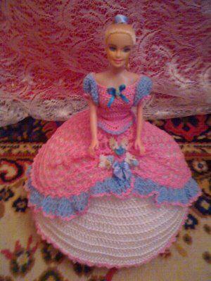 Vestido de boneca de croche | Crocheart