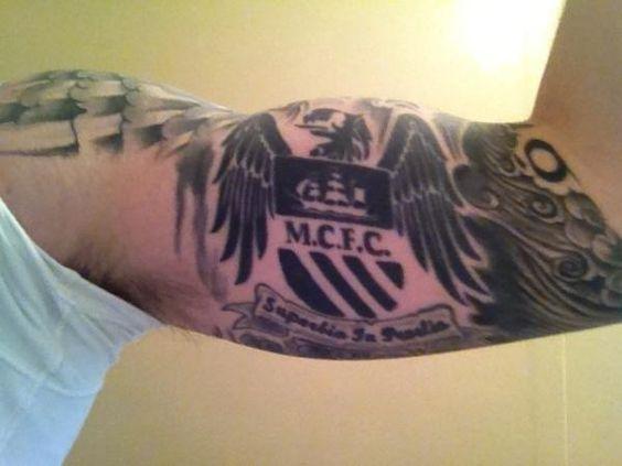 MCFC tattoo