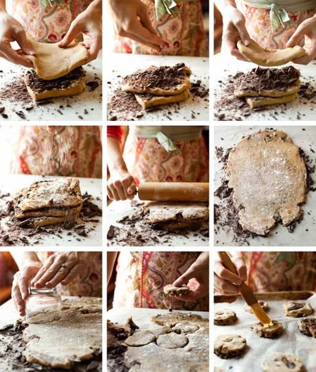 Sweets for your sweetie: Thousand-Layer Chocolate Chip Cookies from The Newlywed Cookbook