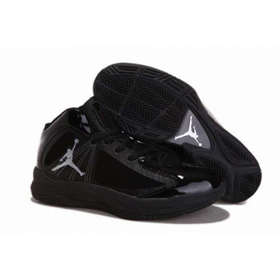 Wholesale Jordan Aero Flight Women Shoes All Black 1005 For $60.00 Go To: http://www.airmaxshoxvip.com