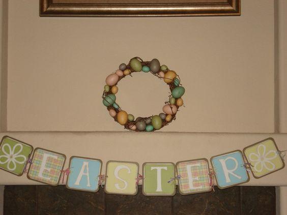 Darling Paper Easter Banner