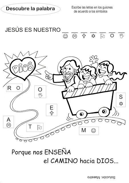 El Rincón de las Melli: DESCUBRE LA PALABRA: Jesús Maestro (para los más c...