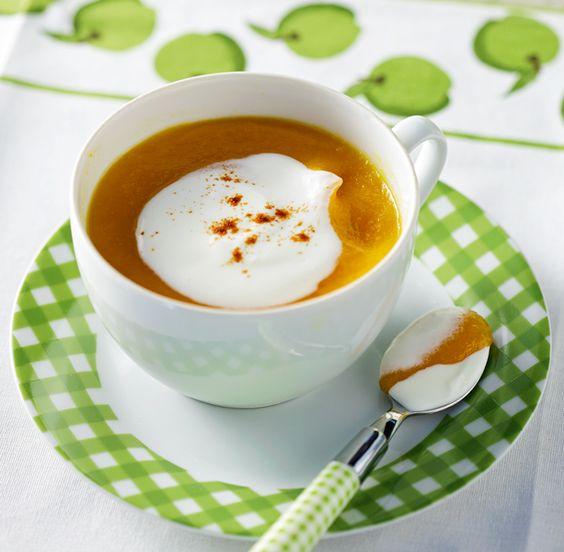 Καροτόσουπα με κύμινο, κάρι και κρέμα γιαουρτιού | olivemagazine.gr | Bloglovin':