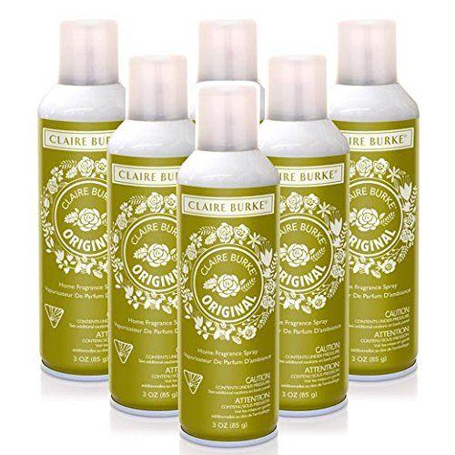 Claire Burke Vapourri Home Fragrance Spray 3 Oz Box Of 6 Original Fragrance Spray Home Fragrance Fragrance