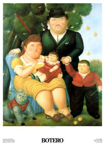 La Familia por Botero