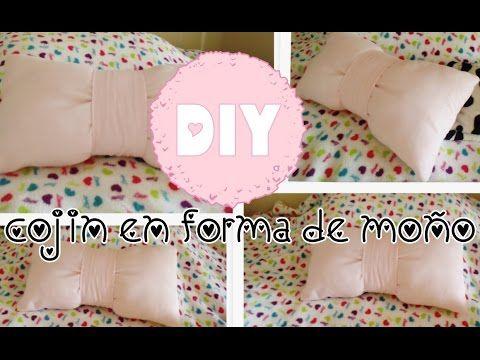 DIY: cojin en forma de moño (super facil) ✿✿