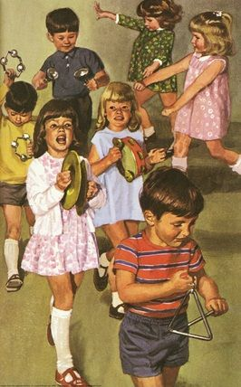 Ladybird Books. Joining a play group. #illustration #books #children