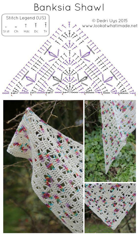 17 Pañuelos Corte Afgano Crochet | Otakulandia.es