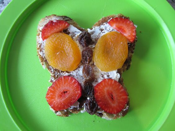 Healthy Eating and good attitudes towards food is important for kids. Here is a page of photo ideas.: Healthy Food For Kids, Fun Food, Butterfly Snack, Food Ideas, Healthy Snacks, Kid Snacks, Healthy Kids, Kids Food