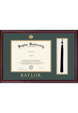 #Baylor University Classic Tassel Diploma Frame