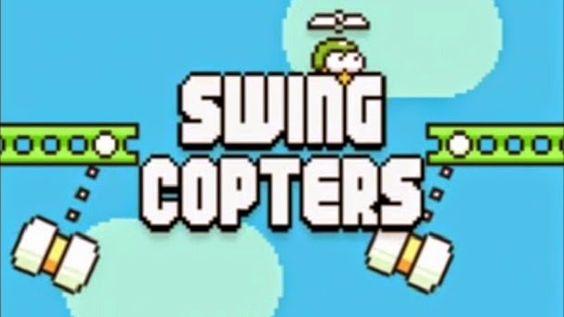 Swing Copters o novo game gratuito sucessor de Flappy Bird que consegue ser, aparentemente, ainda mais difícil que o do passarinho.