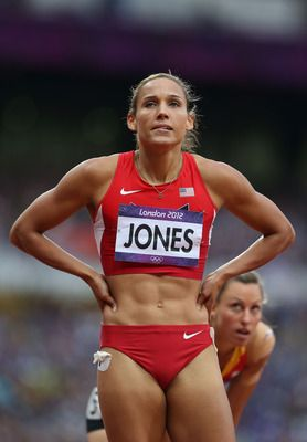 Lolo Jones, U.S. Womens Track and Field