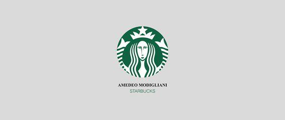 Starbucks by Amadeo Modigliane by Francesco Vittorioso