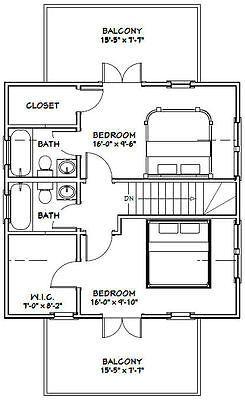 24x24 House 3 Bedroom 3 Bath 1 076 Sq Ft Pdf Floor Plan Model 3a Cabin House Plans Floor Plans House Plans