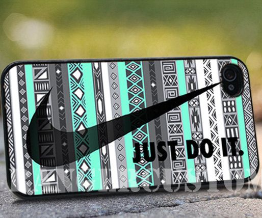 Nike Aztec Mint IPhone 4/4s/5/5s/5c Case By