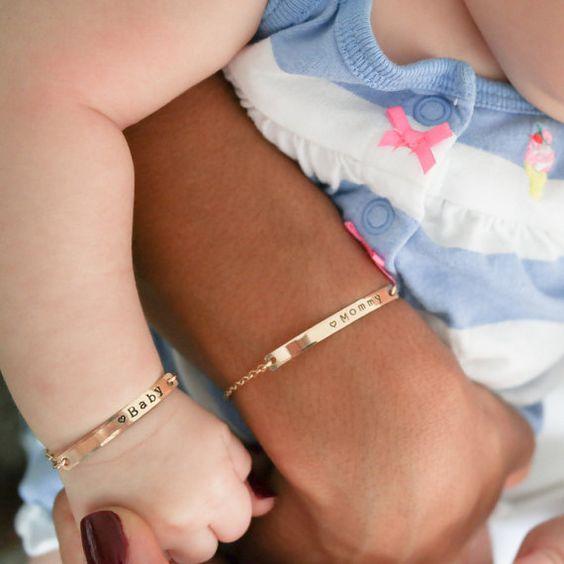 Adjustable Baby Bangle Bracelet