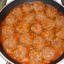 Melinda's Porcupine Meatballs  All recipes . com 10.1.13 Grade: A Review: Universally loved and even better as leftovers. A keeper!