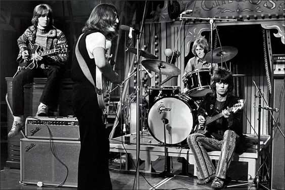 Eric Clapton, John Lennon, Mitch Mitchell and Keith Richards: Musical Legends