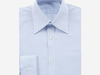 MEN DRESS SHIRT BLUE STRIPE Was £179 | Now £125.30 http://tidd.ly/58afabe2