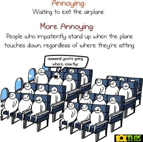 Annoying Things On A Plane