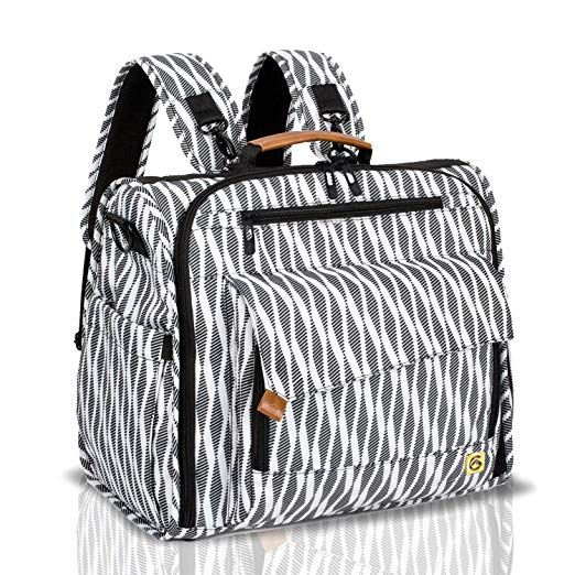Large capacity with Changing pad and Stroller Straps ALLCAMP OUTDOOR GEAR Nappy backpack