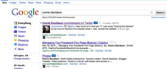 Corrie Davidson on Google+ Resume Pinterest - video producer sample resume
