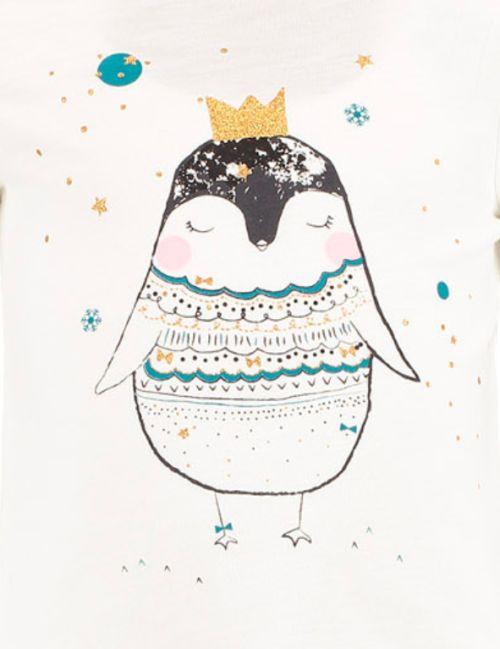 little Christmas penguin